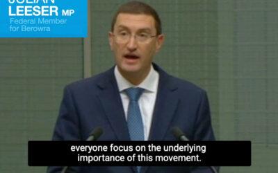 Julian Leeser's Parliamentary Speech